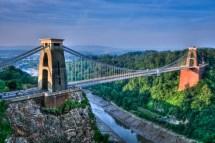 Clifton Suspension Bridge Dawn - Sharing