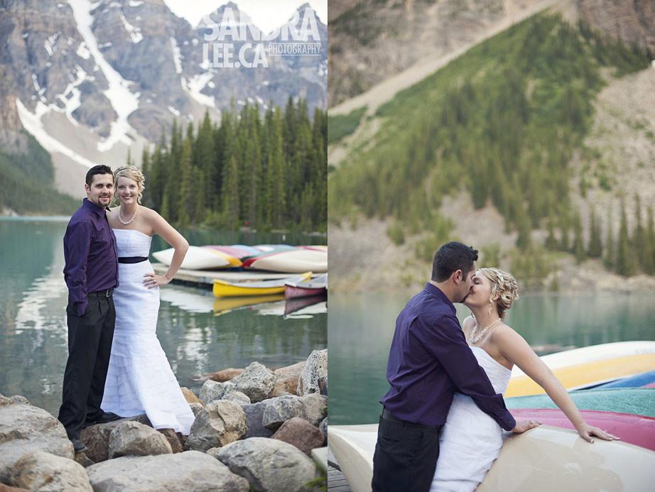 Shane + Nicki : Lake Moraine, Alberta