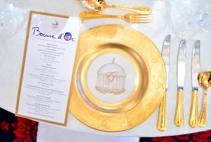Gold Service Dinner