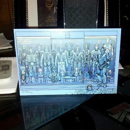 Yay! First Gallifrey One postcard had arrived! by homeward_angel04
