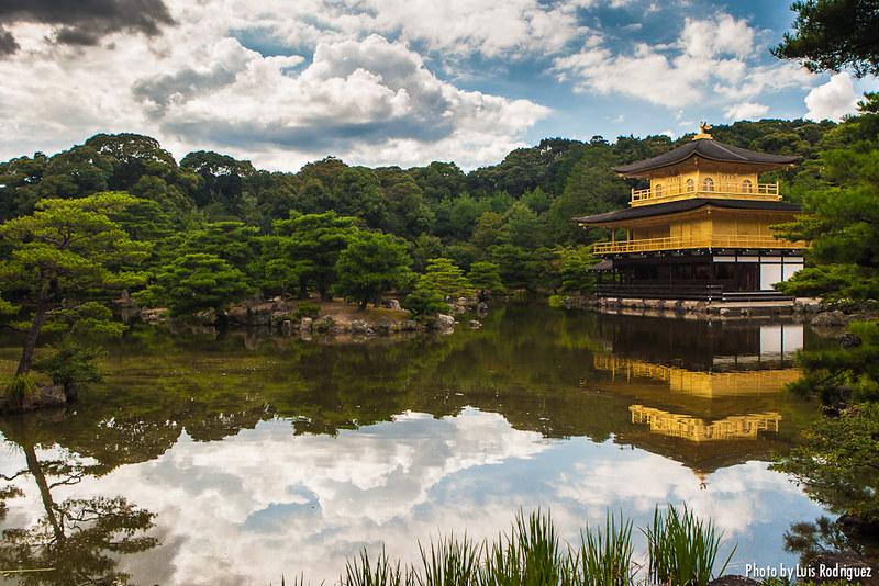 Kinkakuji en Kioto, en nuestros itinerarios por Japón en 2 semanas