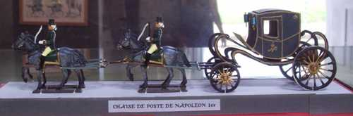 One of the many figurines on display at the Living Horse Museum.