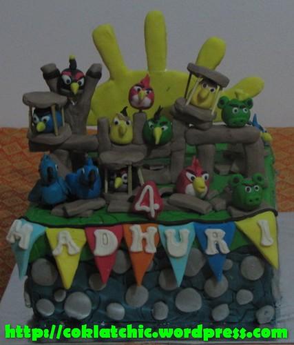 Cake Rio Angry Bird