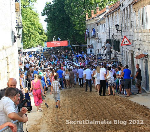 Center of Sinj - ready for Alka