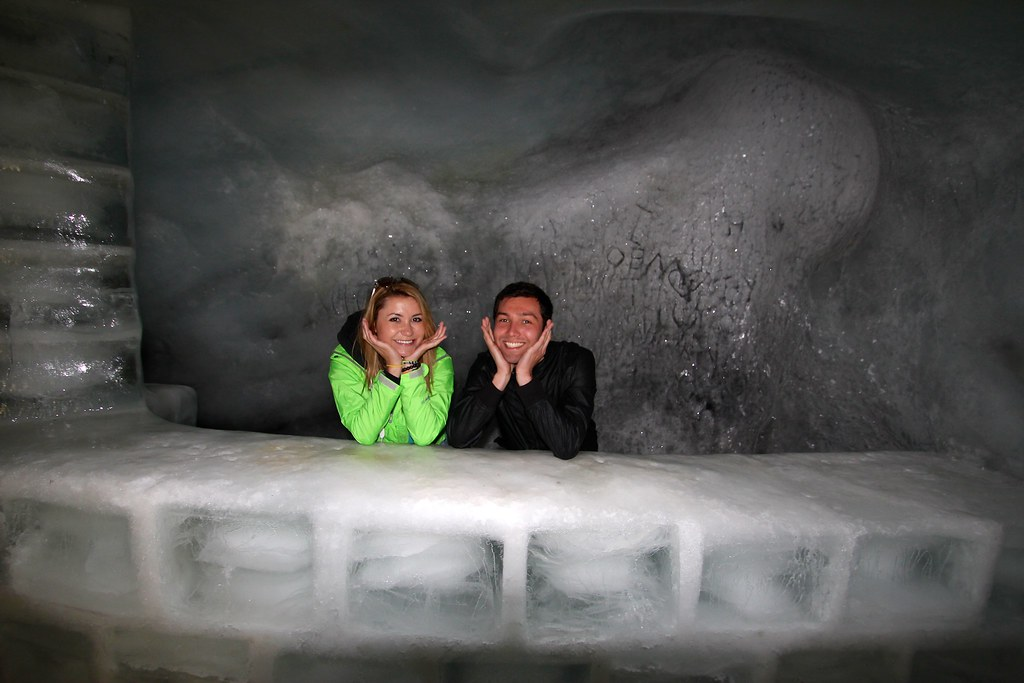 Cute Contest- Glacier Caves- Swiss Alps, Switzerland