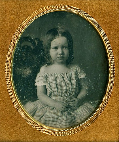 Little Darling, 1/6th-Plate Daguerreotype, Circa 1850