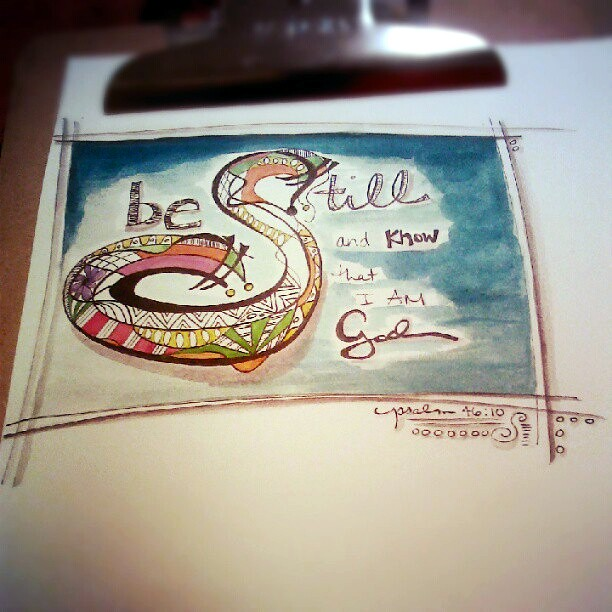Another new one! #sketch #watercolor  #scripture