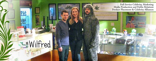 Wilfred Set - Elijah Wood - Jason Gann - $RFMK - MedicalCannabisManagement.com - Cheryl Shuman by CherylShumanInc