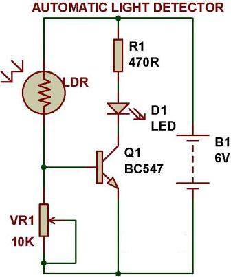 10a Coil Wiring Diagram Lighting Dark Light Sensor Using Transistor Buildcircuit