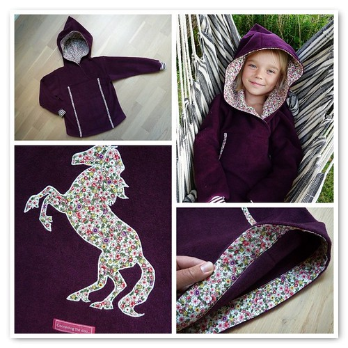 Ronja's new fleece sweater
