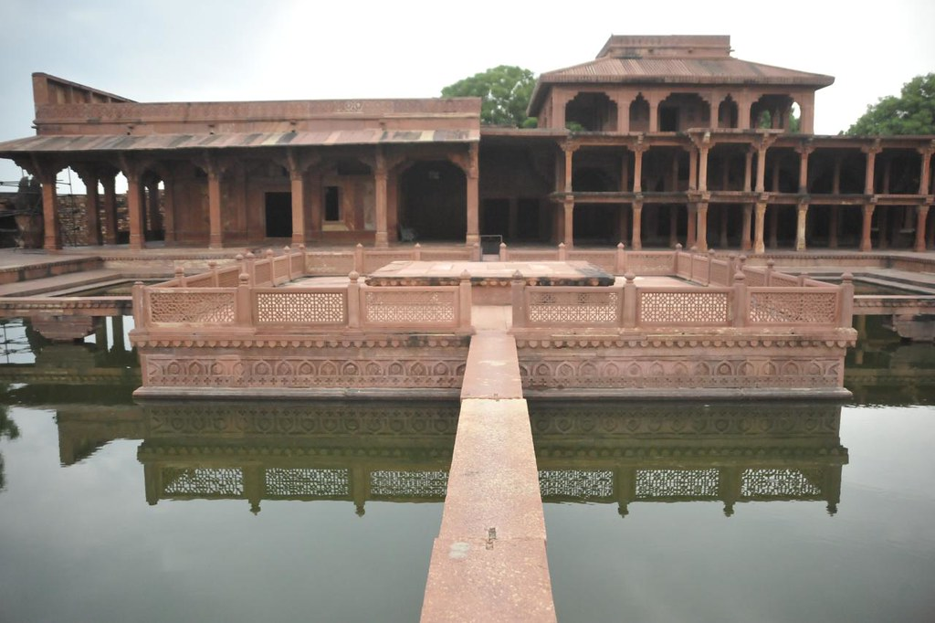 The Anup Talao, seat for Tansen's performances