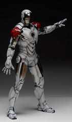 HT 1-6 Iron Man Mark IV (Hot Toys) Custom Paint Job by Zed22 (4)