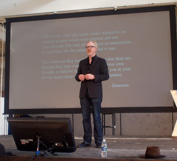 Adam Savage at XOXO Festival 2012