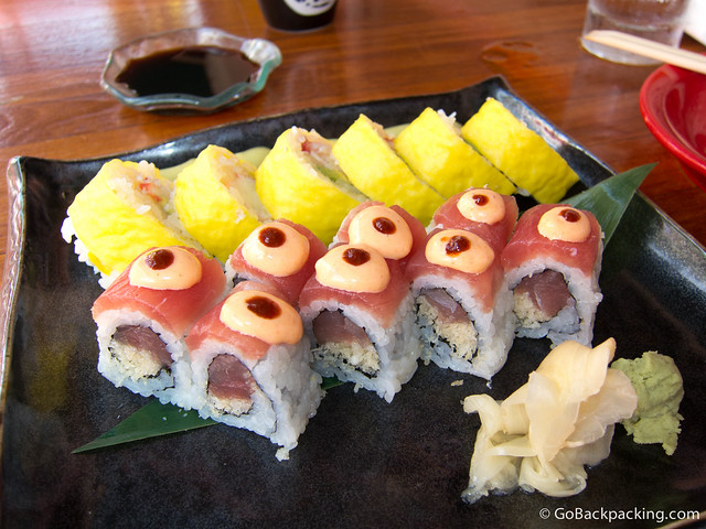 Lunch at Sushi Samba