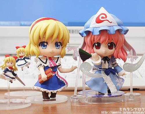 Nendoroid Alice Margatroid and Saigyouji Yuyuko