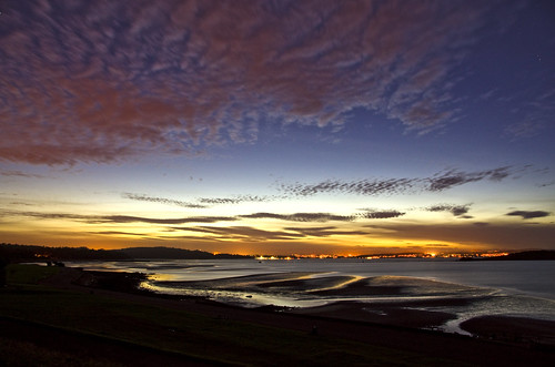 Cramond Sunset 5 Sept 2012