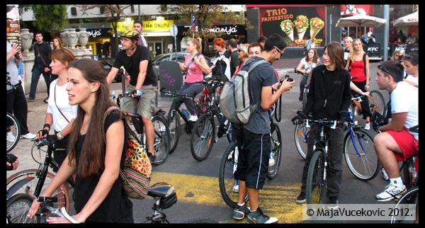 Vreva - biciklisticka voznja