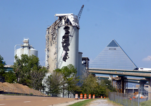 Lonestar silo demolition by joespake