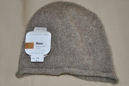 Trenton's hat.