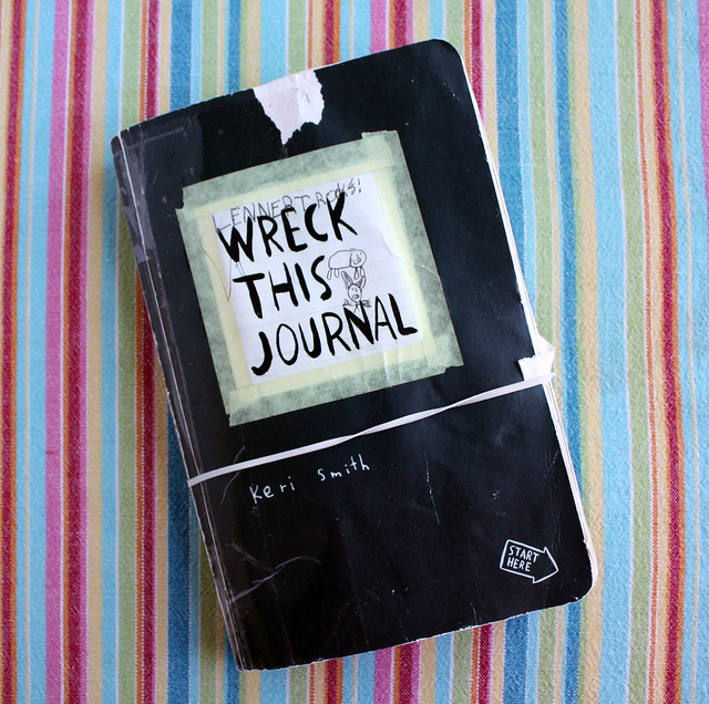 Wreck This Journal a MotherSon Project  Wendolonia