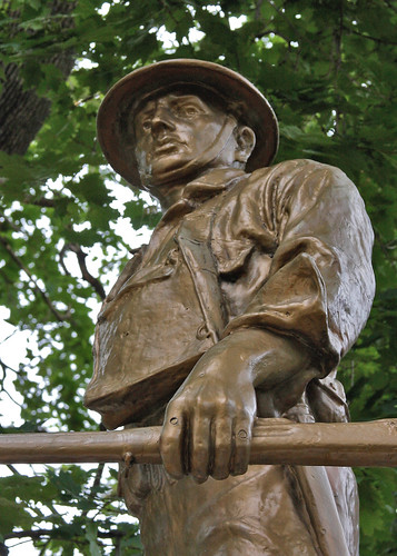 "Hudson County NJ - World War One Memorial ""Dough Boy"""