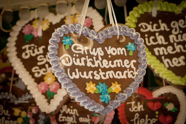 greetings from Dürkheim's Wurstmarkt