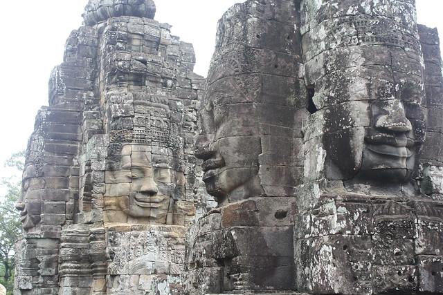 Bayon Faces in Angkor