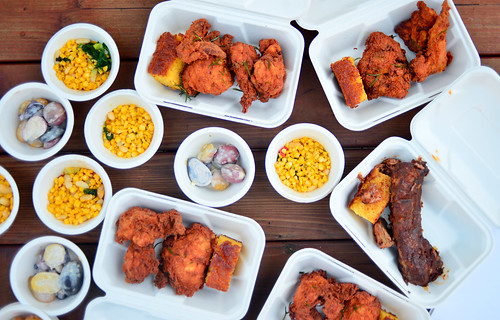 Fried Chicken and BBQ