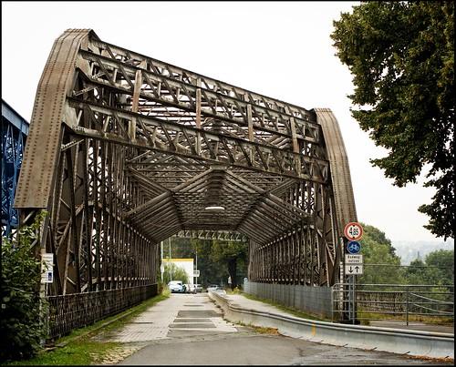 alte Flügelwegbrücke