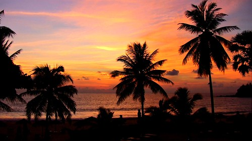 THAILAND-Phuket , Surin, Favorit 3 - silent beach at sunset , 200/1428