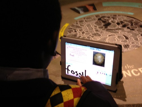 Student on iPad by Mooshme
