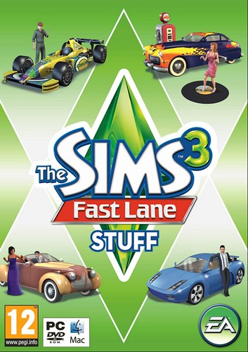 Image of The Sims 3- Fast Lane Stuff