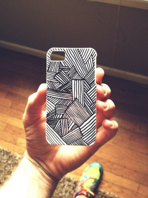 phone cases diy sharpie case drawing iphone covers mobile holder flickr drawings doodle explore diys