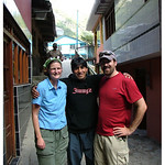 Jenn and Dave with our assistant guide, Jose Angel