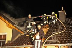 Dachstuhlbrand Hünstetten-Kesselbach 29.08.12