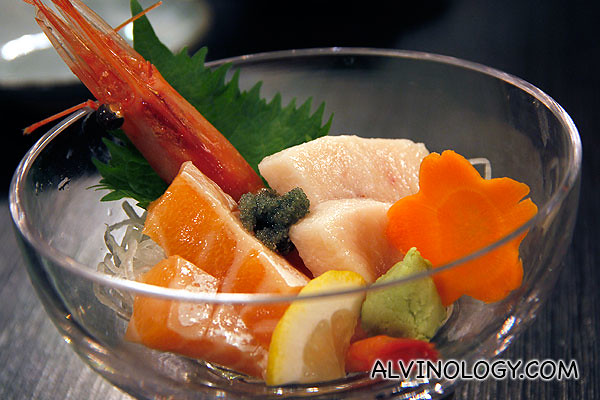 3-Kind Sashimi Moriawase (S$42)