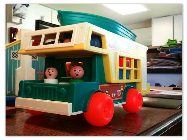 Retro Toy Love: Fisher-Price Play Family Camper [1972]