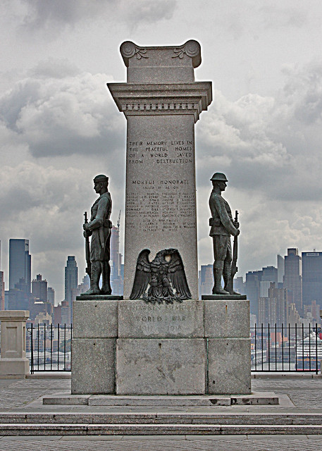Weehawken Memorial WWI 1917 - 1918
