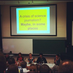 Crisis in science journalism #scicom21