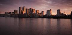 Docklands sunrise