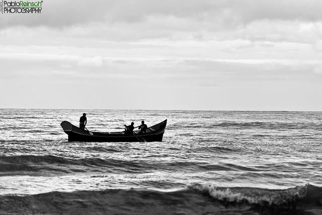 Fishing boat.-