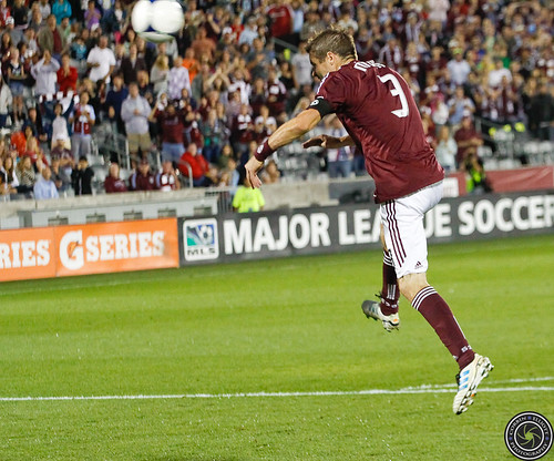 Drew Moor, Colorado Rapids v LA Galaxy 1-1 Sept 30th 2012 by Corbin Elliott Photography