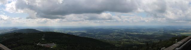 South View from Ještěd