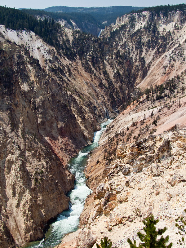 Grand Canyon of Yellowstone River, Inspiration Point