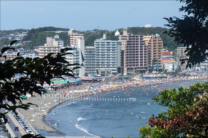 Playas de Enoshima, ideales para pasar un verano en Japón