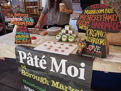 Pate Moi. Venn Street Market, Clapham Common