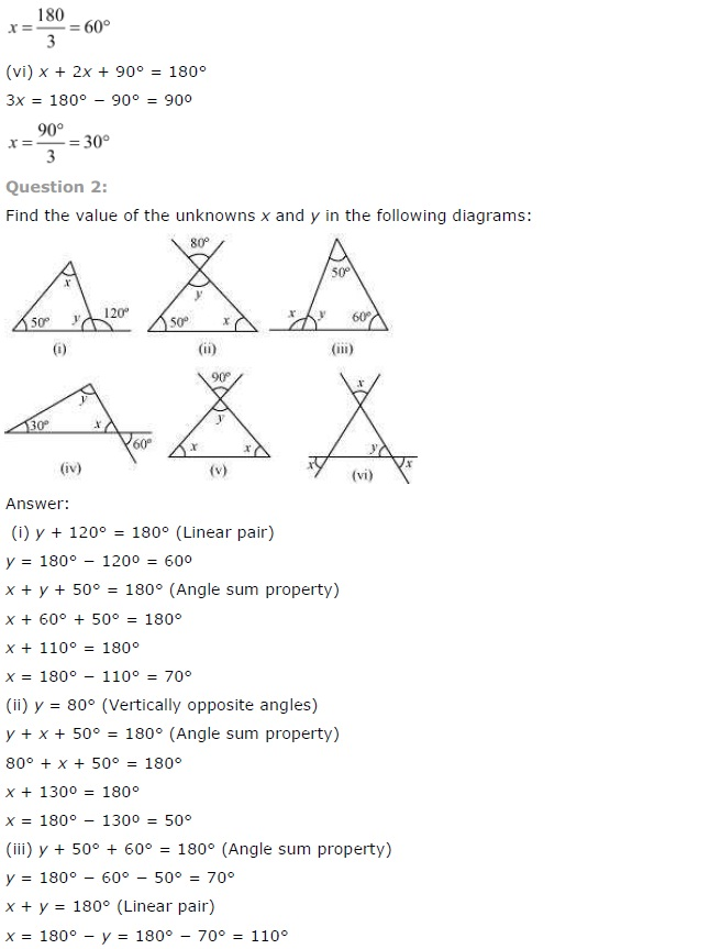 NCERT Solutions for Class 7 Maths Chapter 6 The Triangle and its Properties Ex 6.3 3
