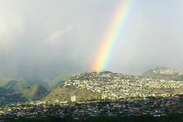 Rainbow from Annual Honolulu Century Ride