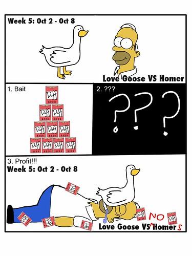 Love Goose vs No Homers