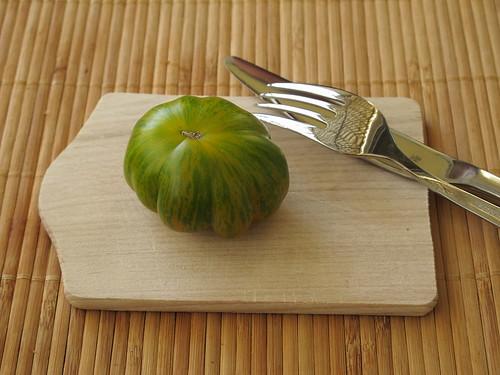 gr ne zebra tomate gourmandise. Black Bedroom Furniture Sets. Home Design Ideas